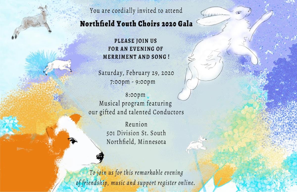 Northfield Youth Choirs 2020 Gala